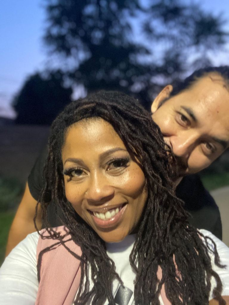 MsKindness and Aaron Ramirez smoke weed together. They are firm believers in being honest with their kids about the cannabis plant and their cannabis consumption.